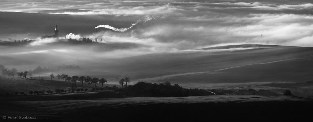 Fotokonst How the mists arise