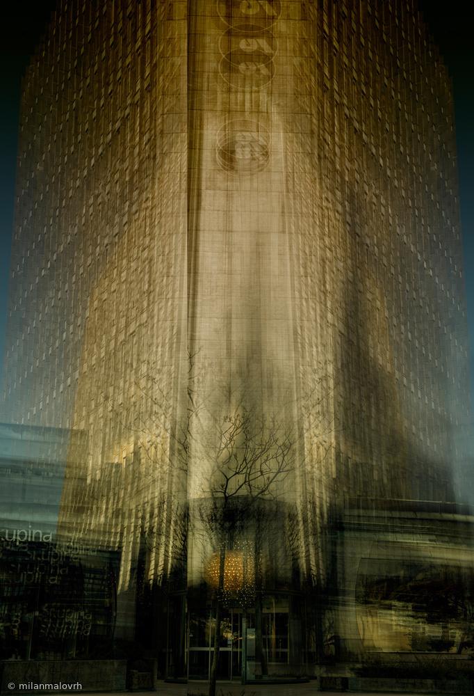 Fotokonst Tower insatiable