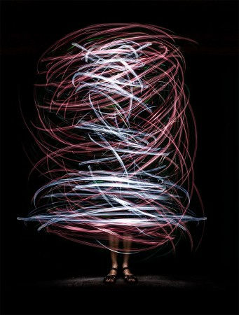 Light painting by Karin Claus