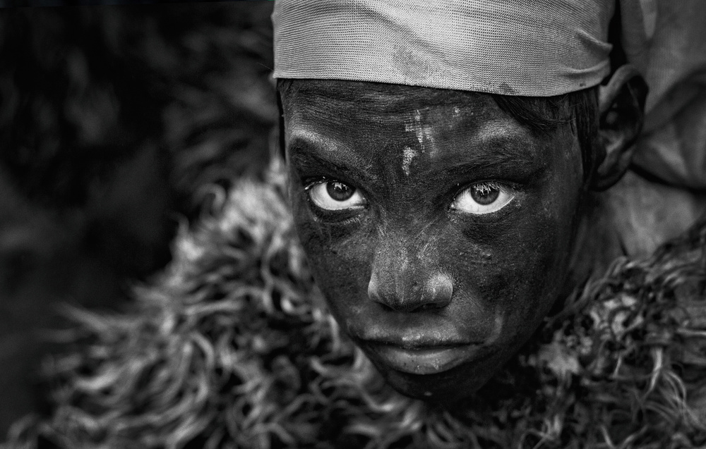 Fotokonst The black boy