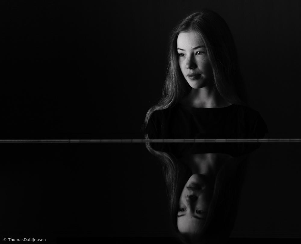 Fotokonst Pianist