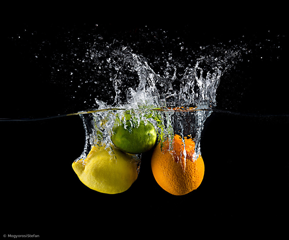 Fotokonst Citrus splash