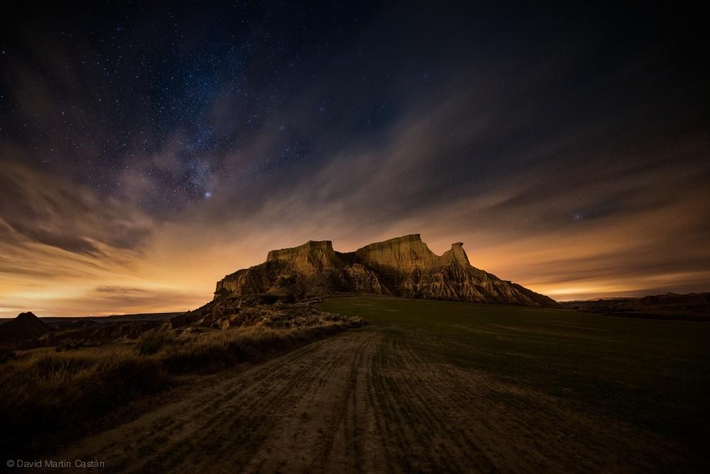 Fotokonst Badlands III