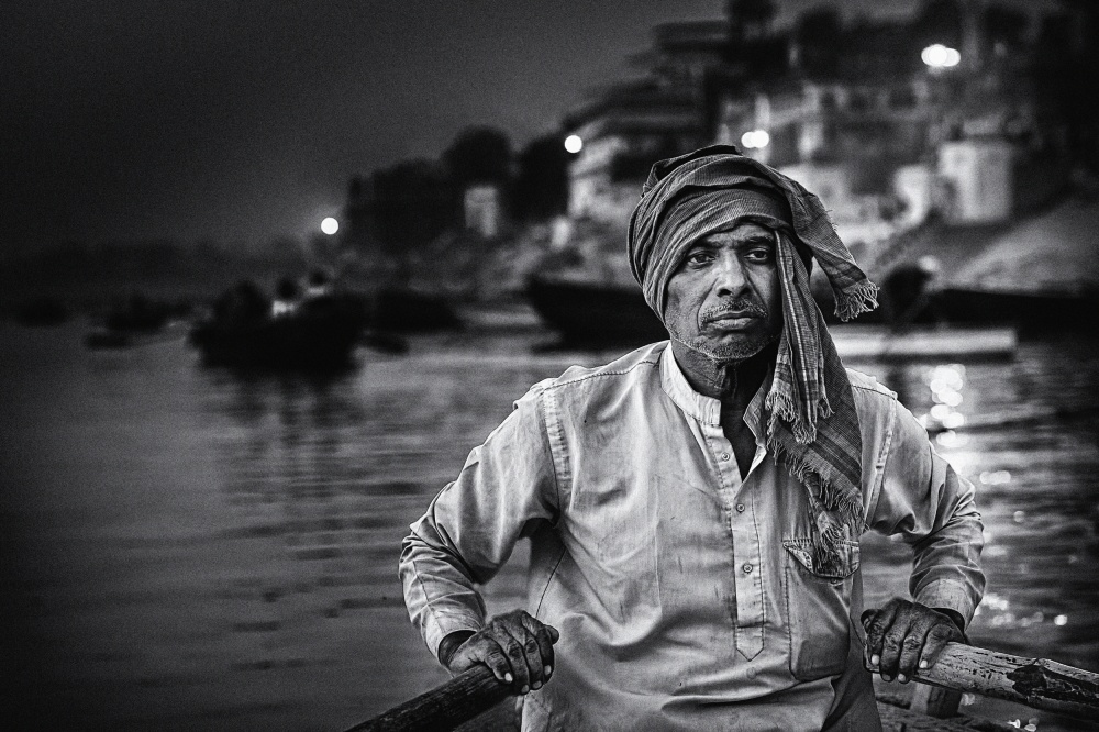 Poster nights on the Ganges