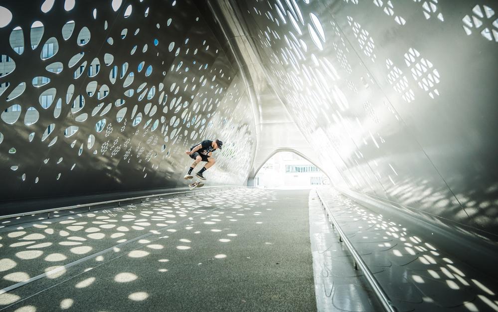 Fotokonst Kickflip Sam Taeymans