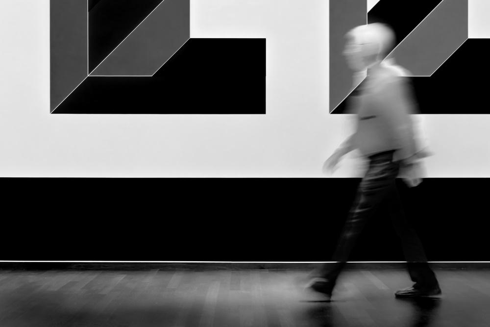 Fotokonst Art walker