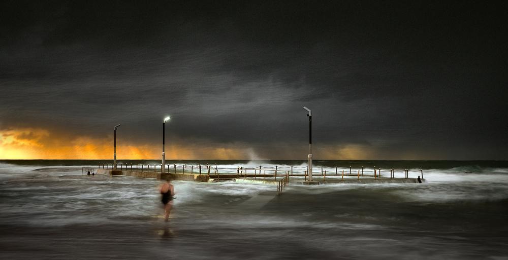 Poster MonaVale ocean pool