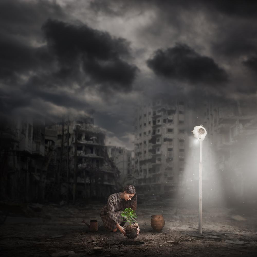 Fotokonst Light Of Hope