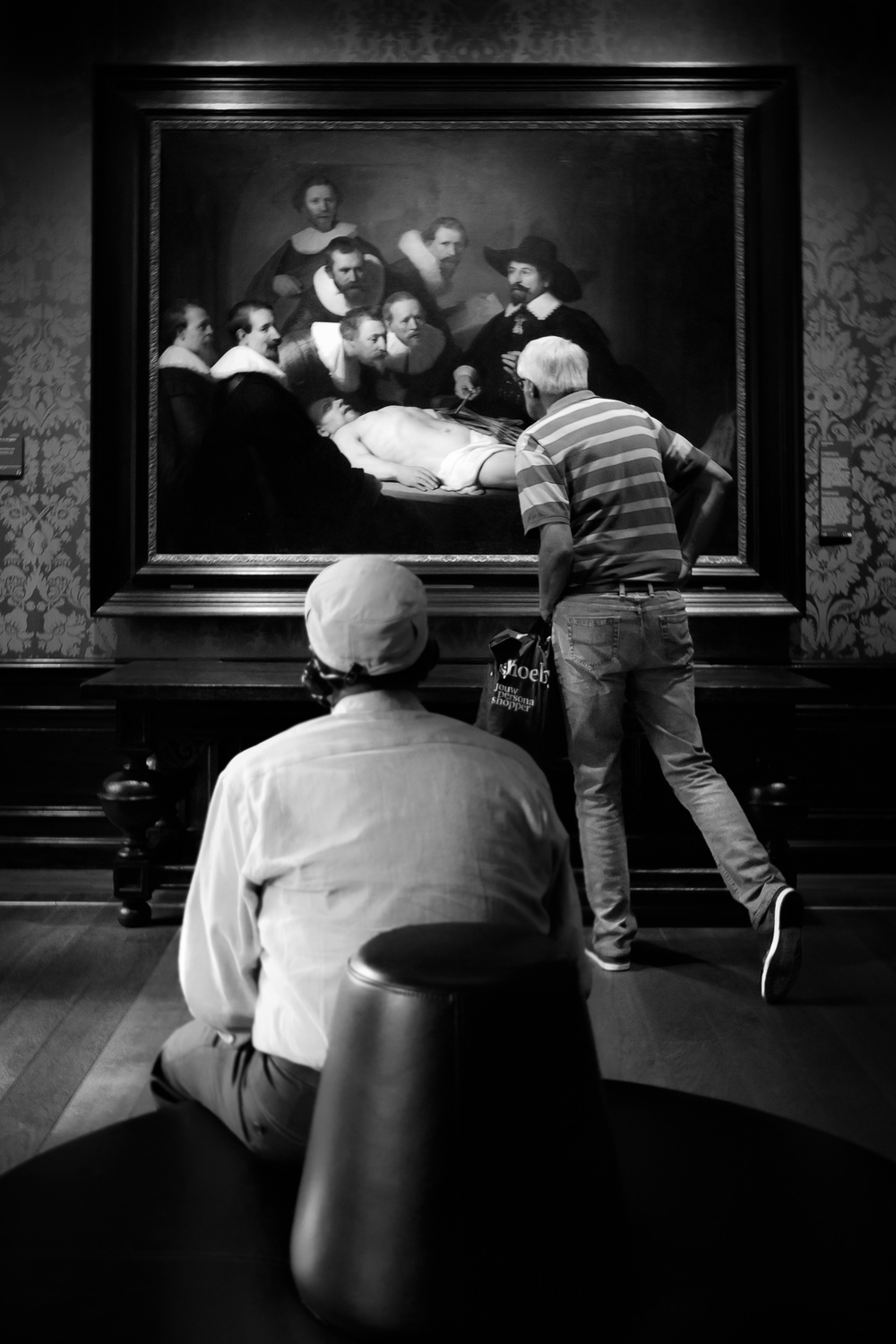 Attending The Anatomy Lesson Of Dr Nicolaes Tulp By Giovanni Casini