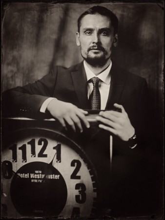 Alex, Wet plate collodion 18x24 cm by Dzmitry Az
