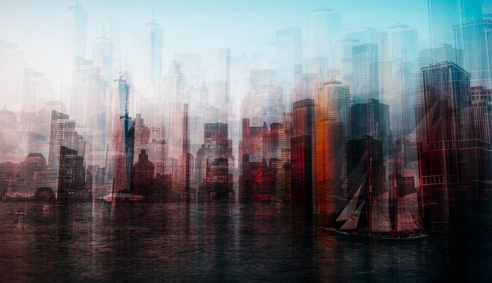 Fotokonst Manhattan
