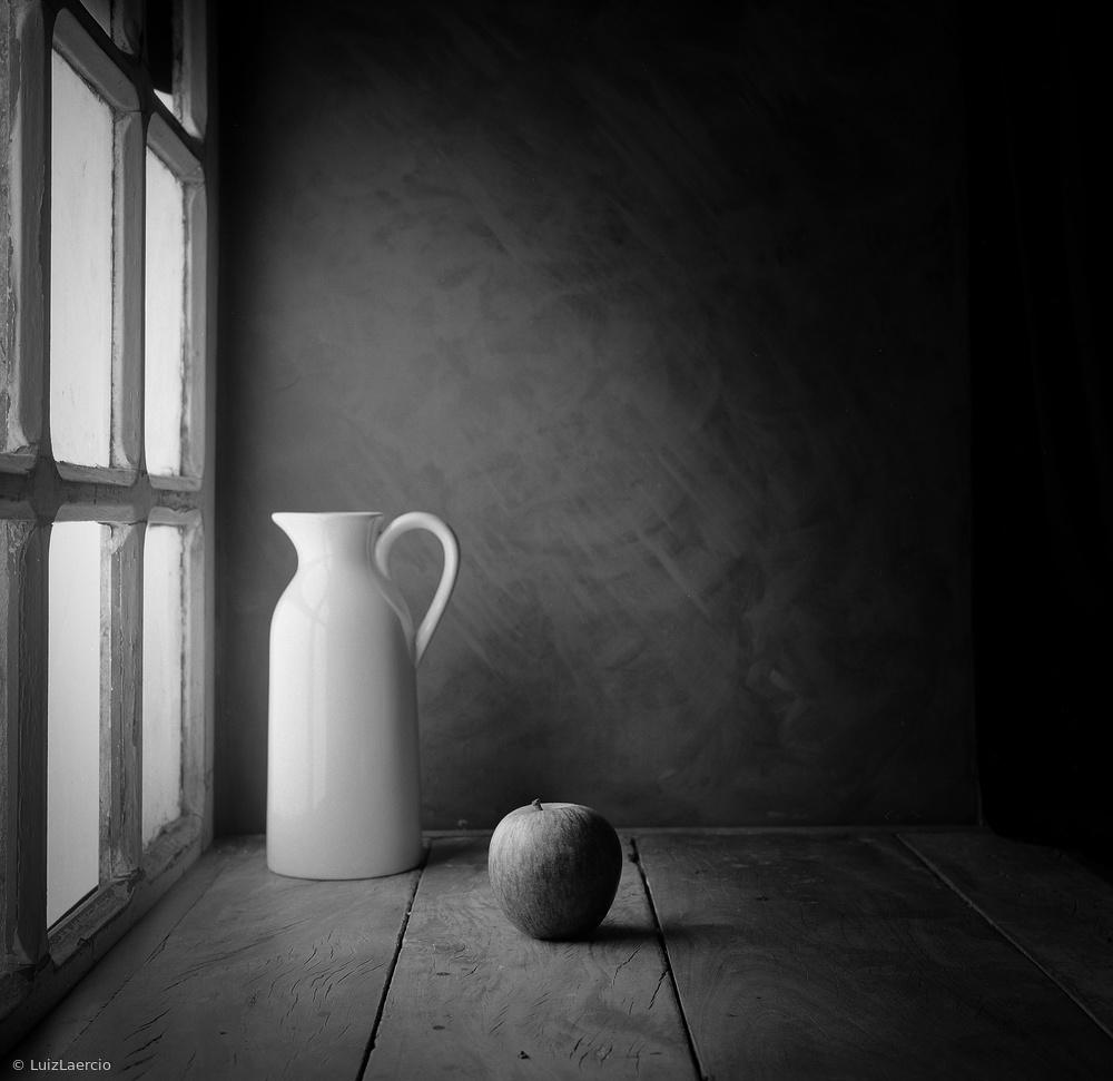Fotokonst An apple - film