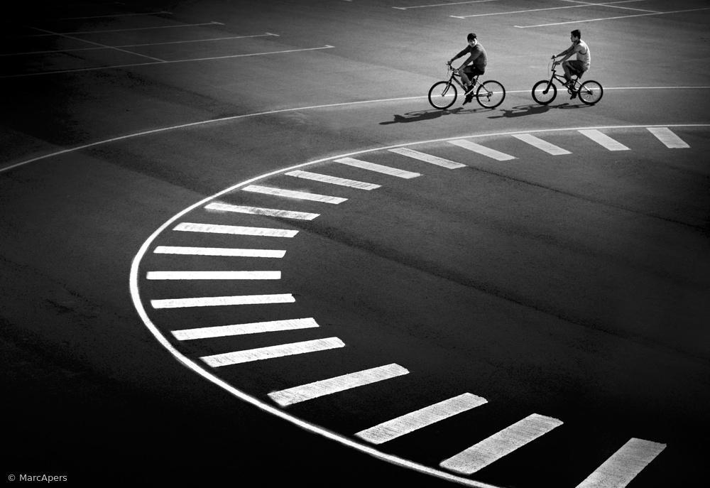 Fotokonst Bicycle track