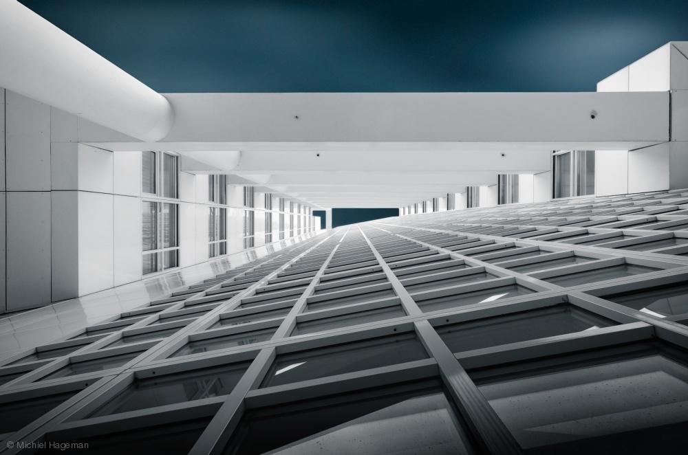 Fotokonst Corridors of Power
