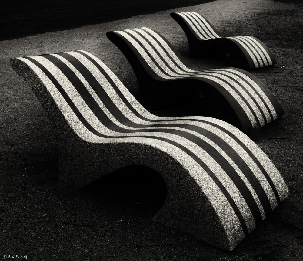Fotokonst Waves