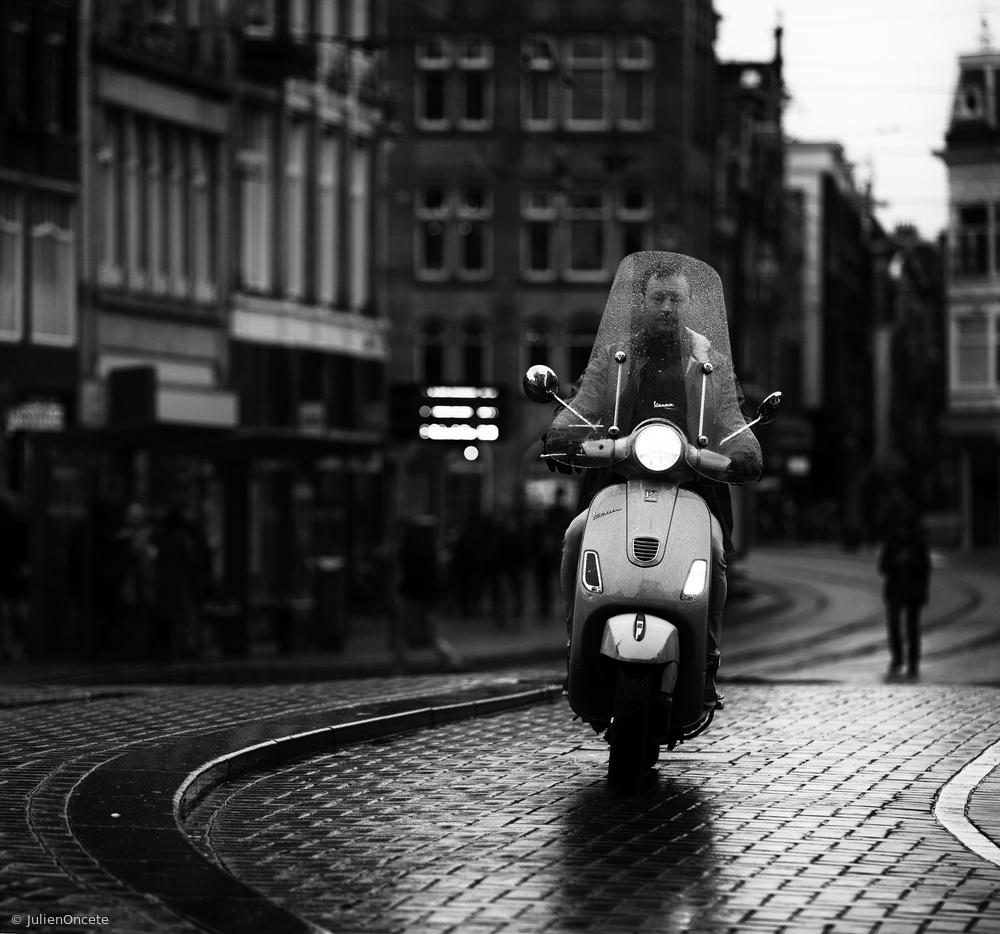 Fotokonst Vespa