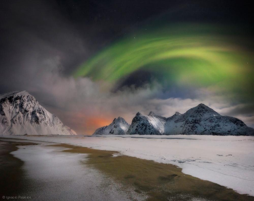 Fotokonst NORTHERN LIGHTS