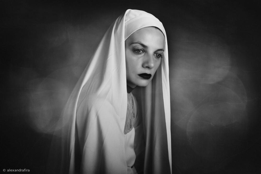 Fotokonst The Nun