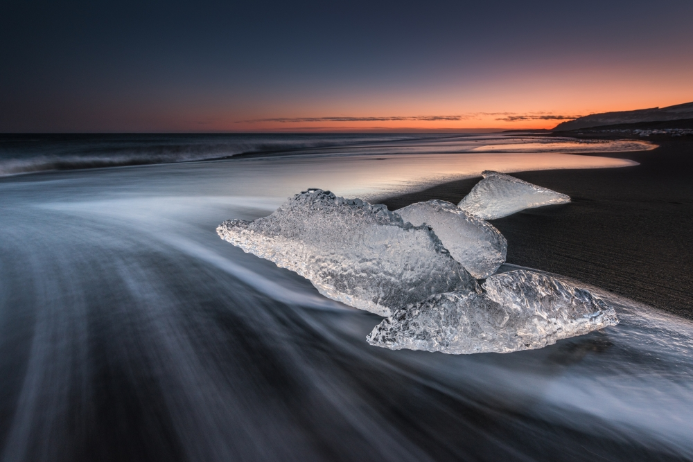 Fotokonst crystal beach