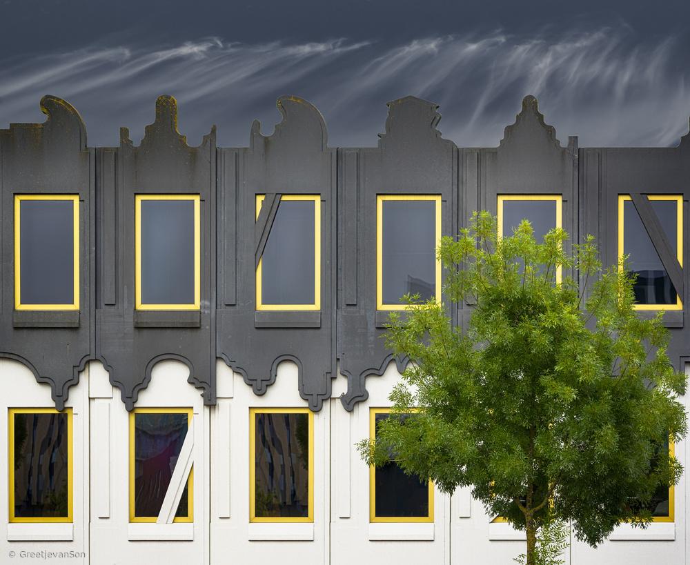 Fotokonst Frivolous facade