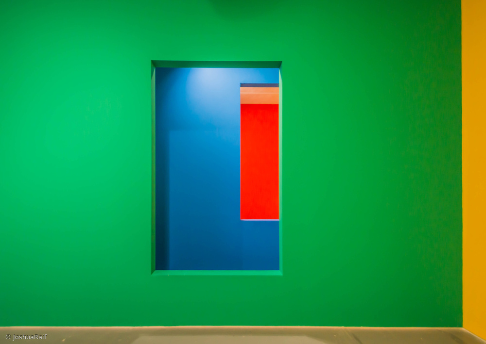 Fotokonst Layers of colour