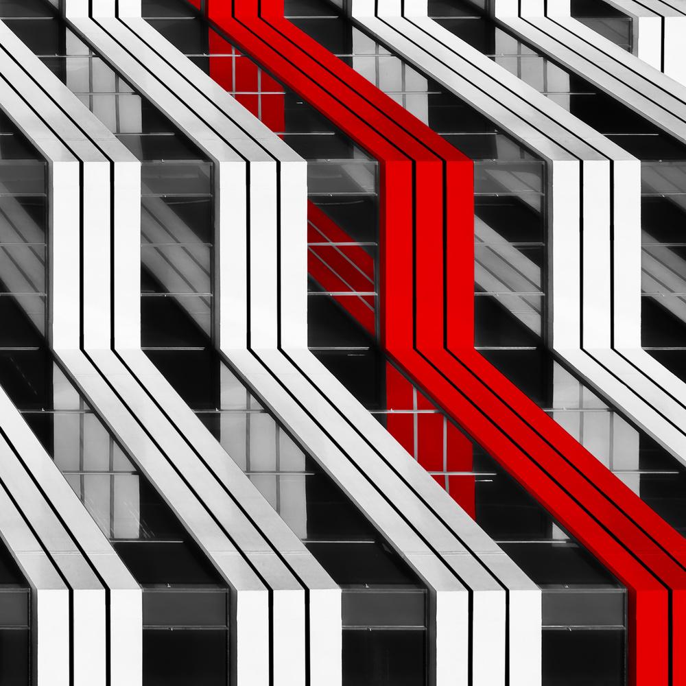 Fotokonst Building Abstract
