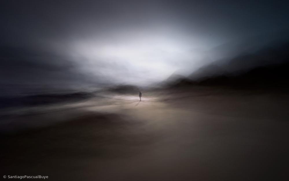Fotokonst In the depth of the horizon
