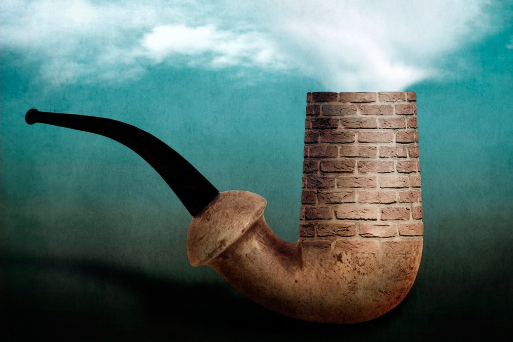 Poster Ceçi n'est pas une pipe!