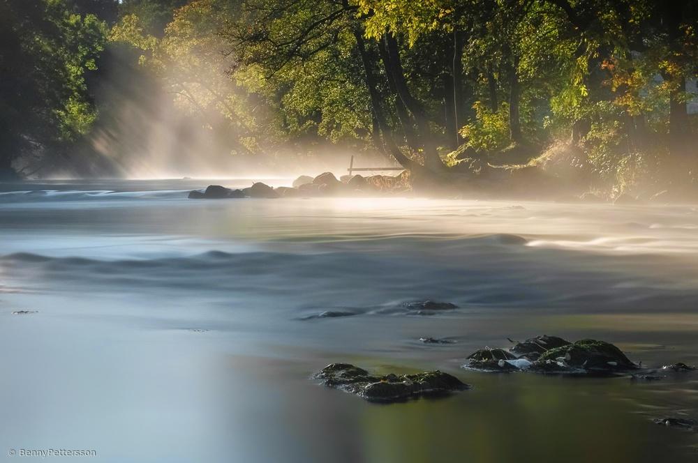 Fotokonst Smoke on the water