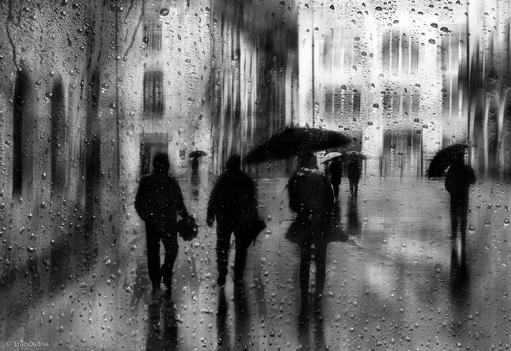 Fotokonst Rainy days