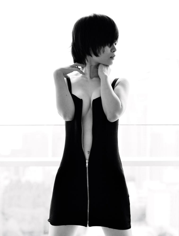 Poster Mini dress