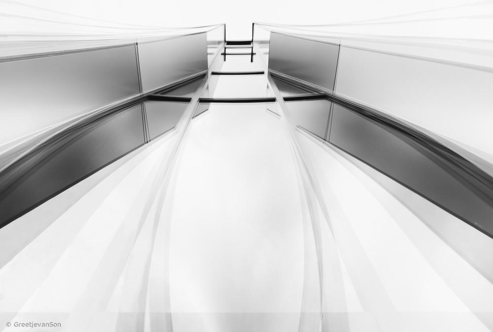 Fotokonst Fading lines