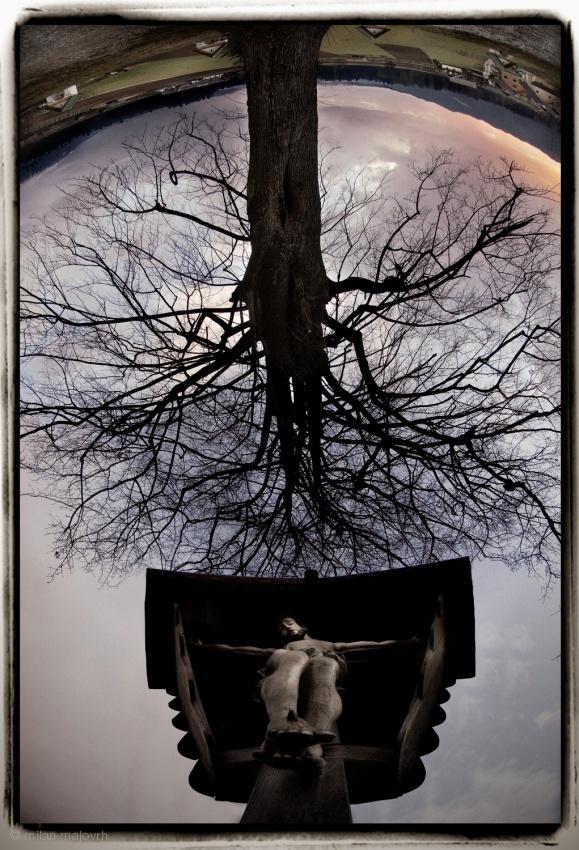 Fotokonst Between haeven and earth