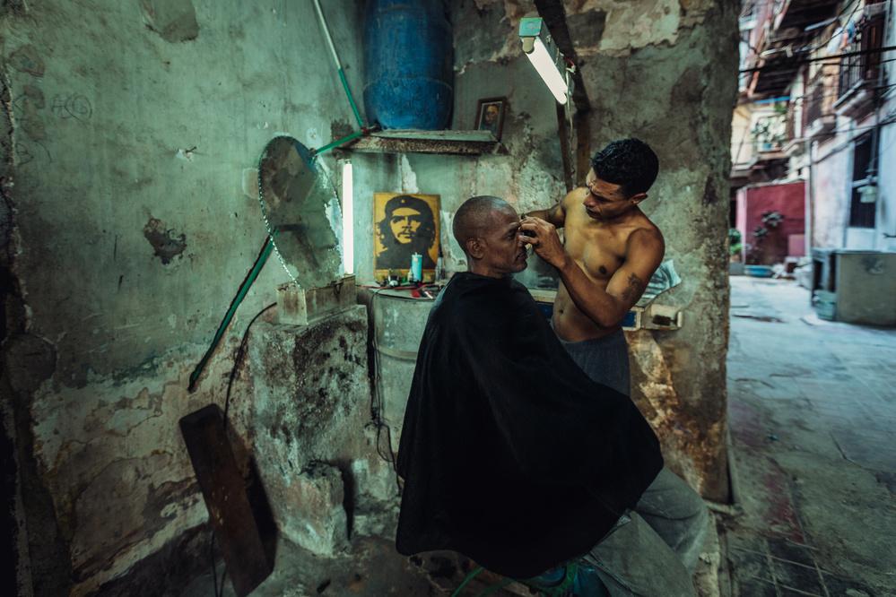Fotokonst Quick haircut