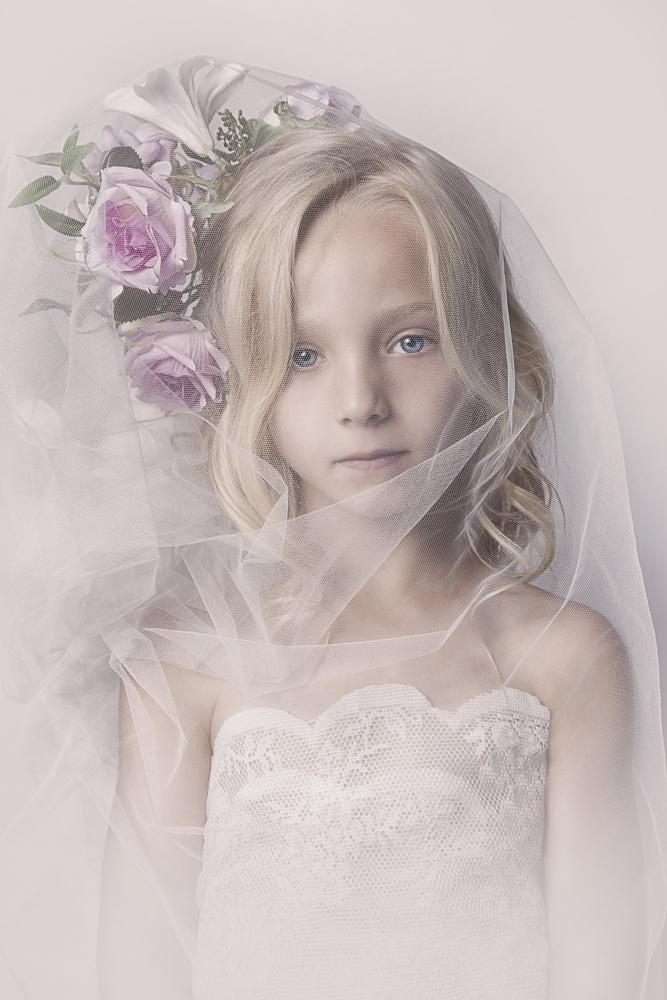 Fotokonst Veil girl