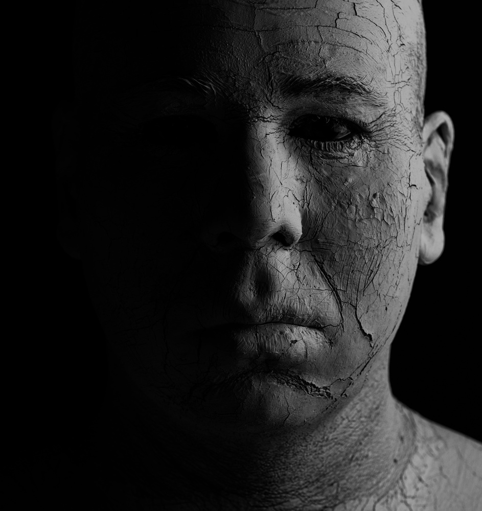 Fotokonst Shadowman