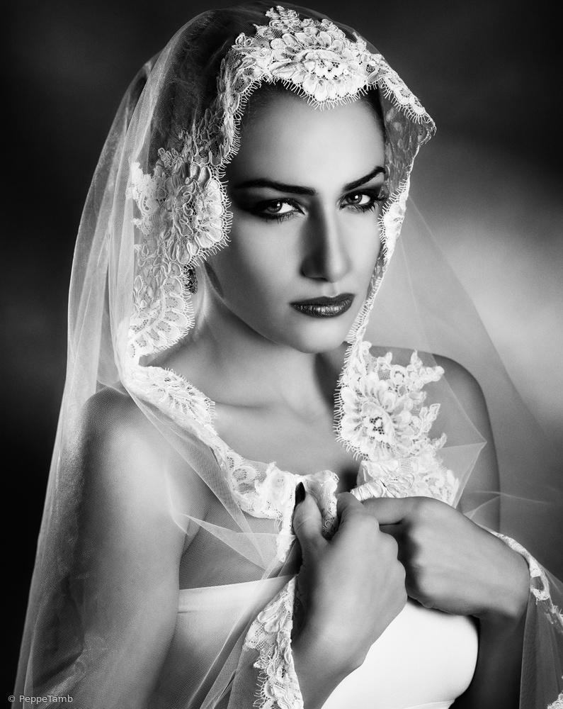 Fotokonst The white veil