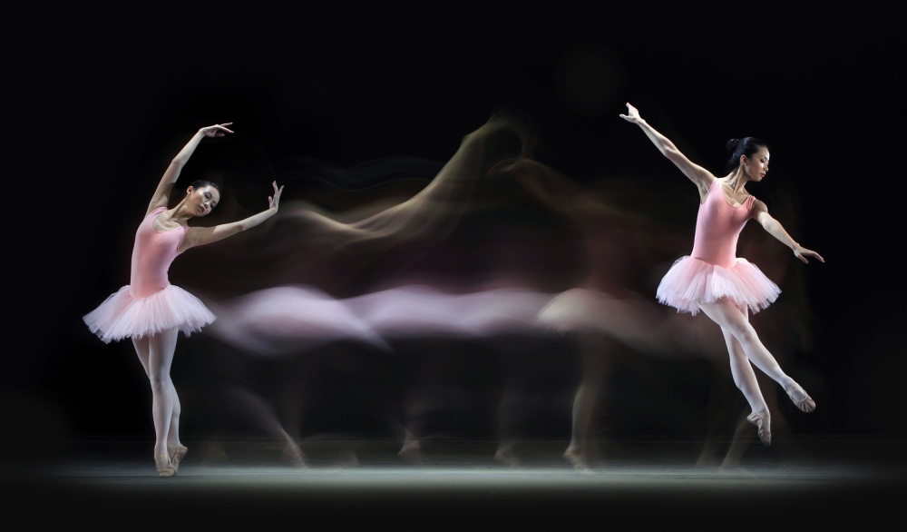 Fotokonst Graceful Balerina