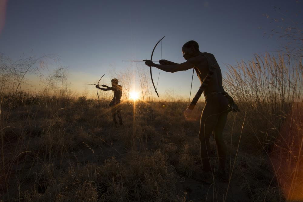 Fotokonst The Bushmen Hunters