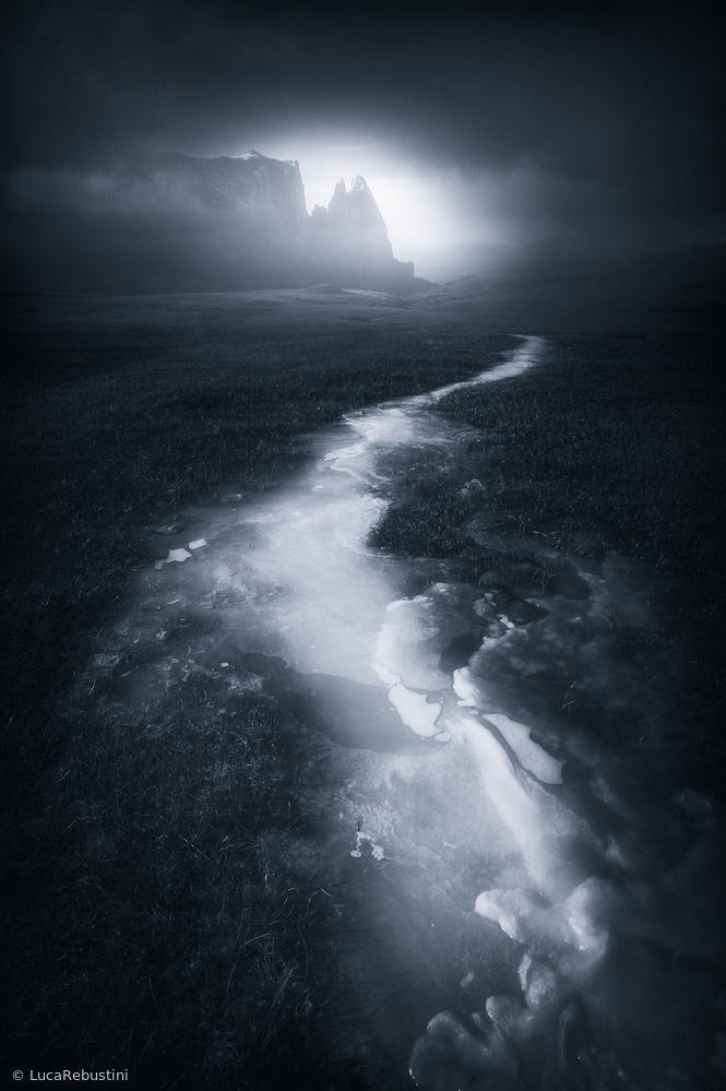 Fotokonst Blue Mountain II