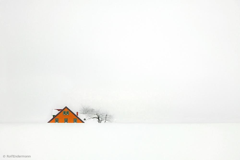 """Fotokonst """" snowbound """""""
