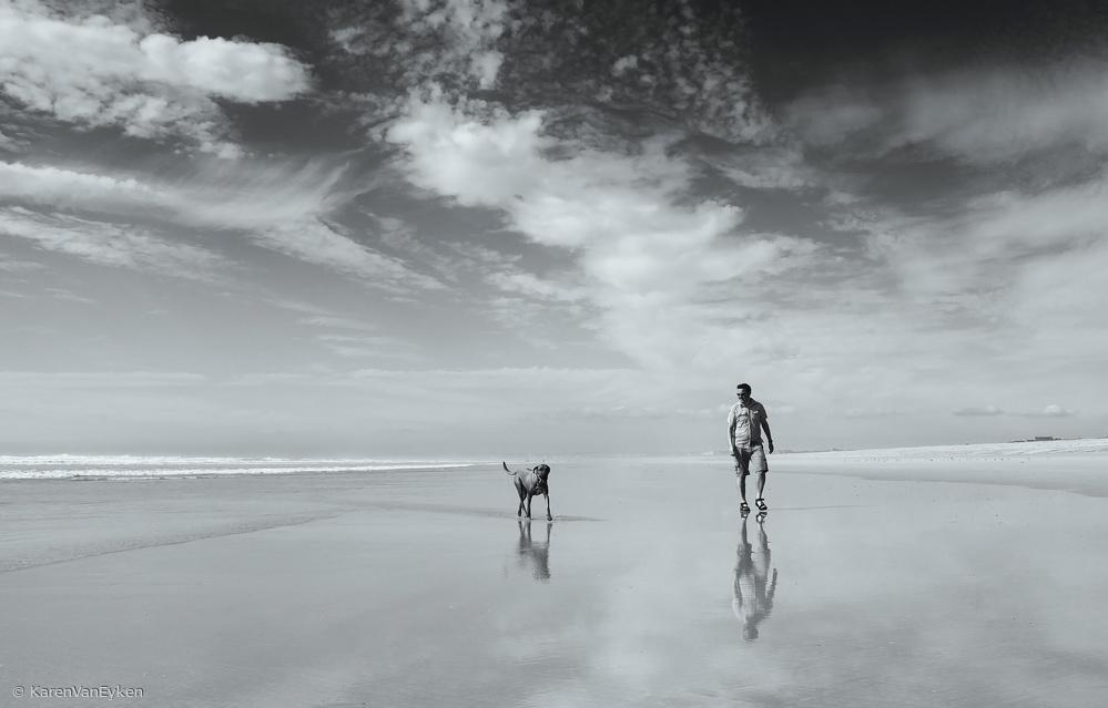 Fotokonst Lifes a beach