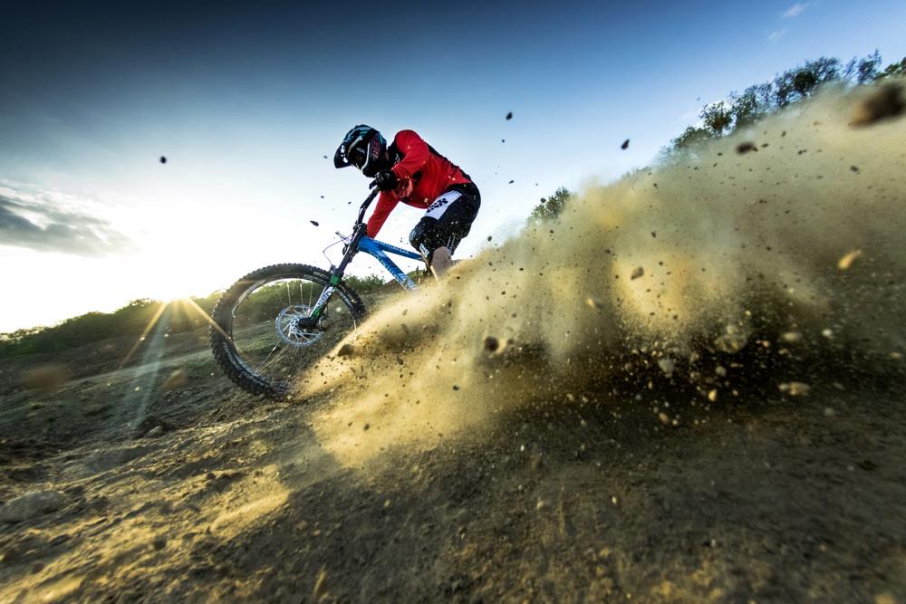 Fotokonst Downhill