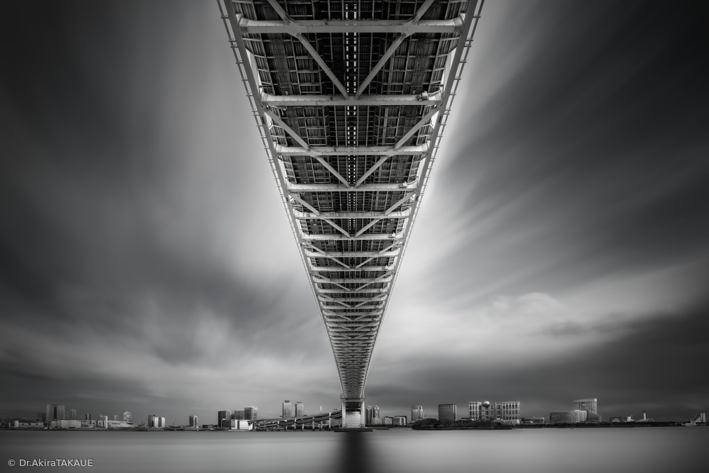 Fotokonst Rainbow Bridge Profile