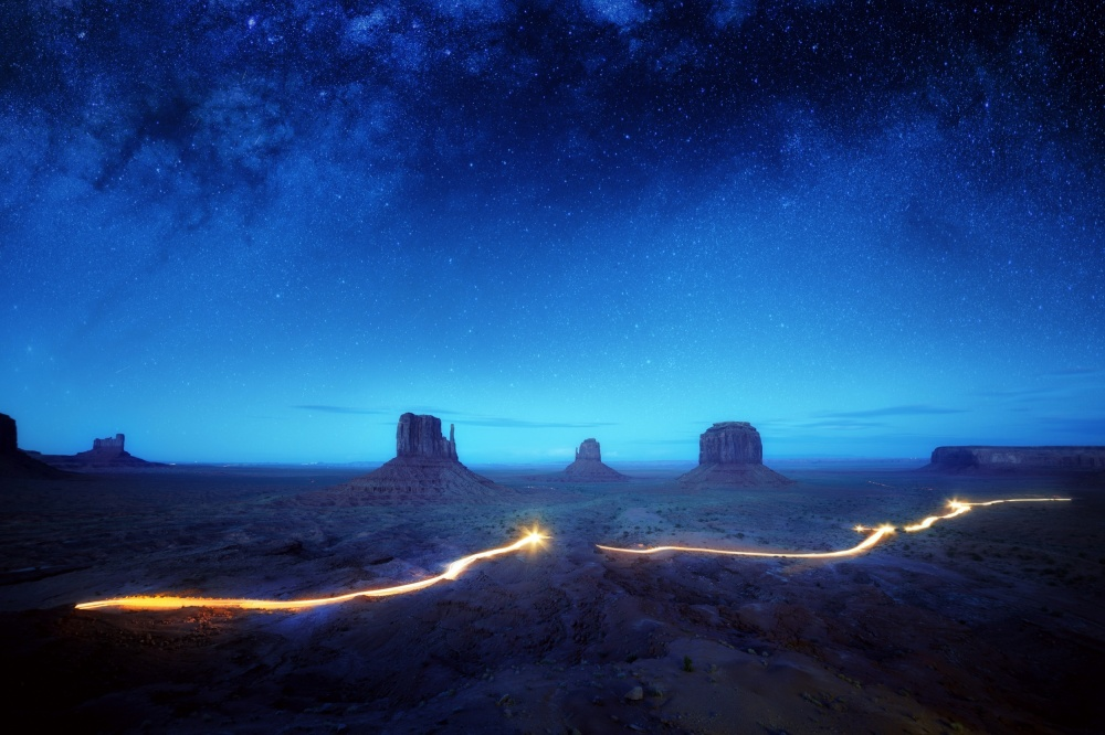 Poster Magic Monument Valley