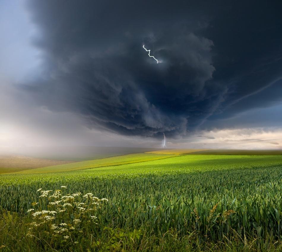 Fotokonst June storm