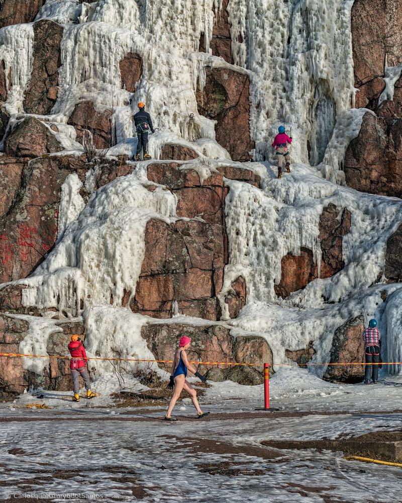 Fotokonst Ice Activities.