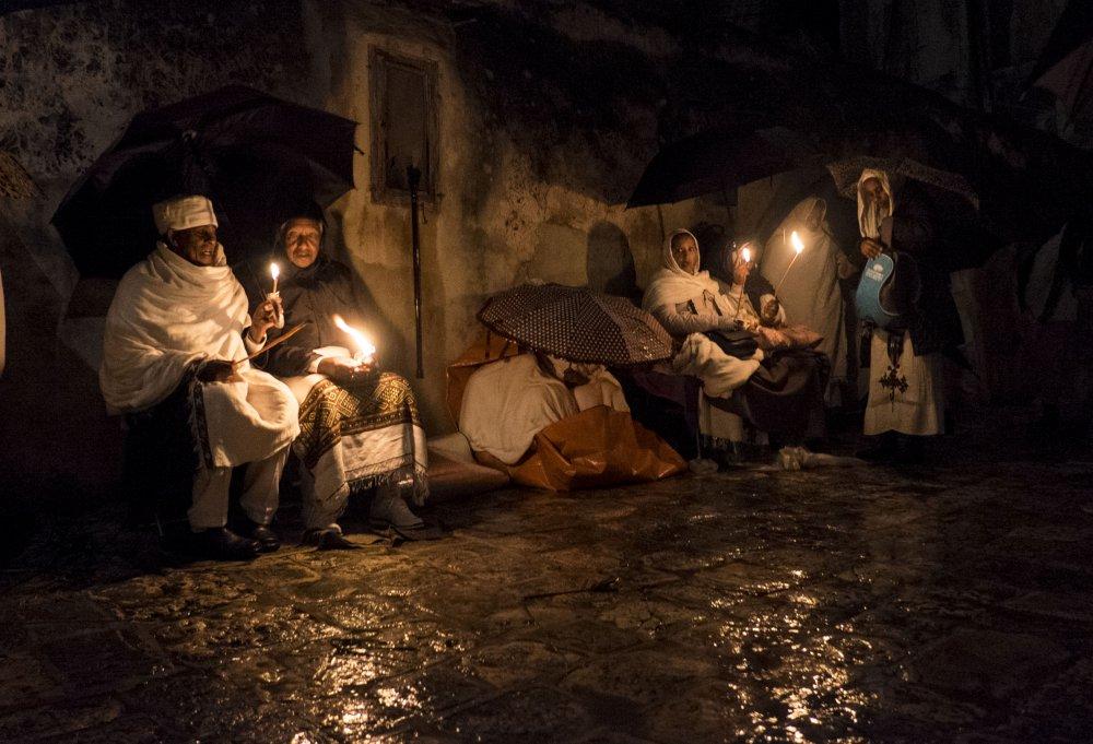 Fotokonst Holy Fire Ceremony
