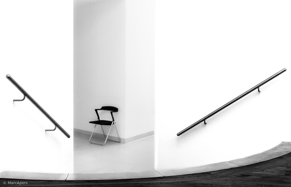 Fotokonst The chair