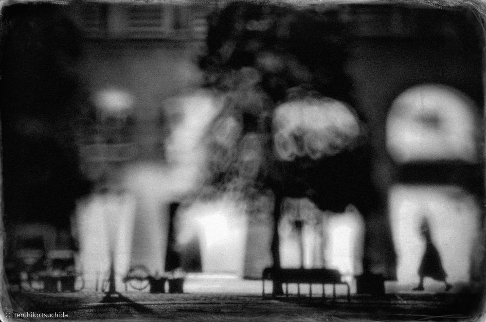 Fotokonst night street